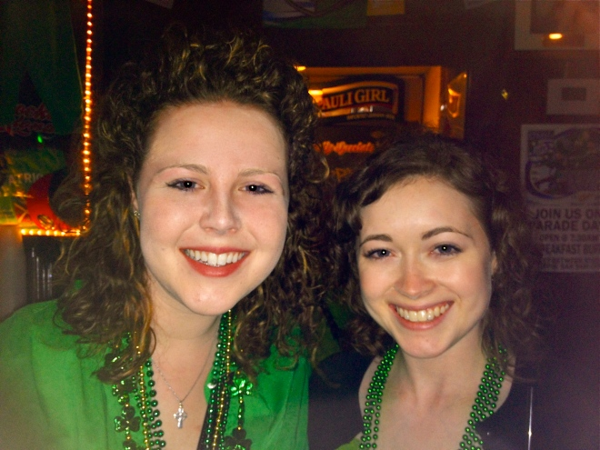 This necklace turned my neck green.  Luck o' the Irish my foot!