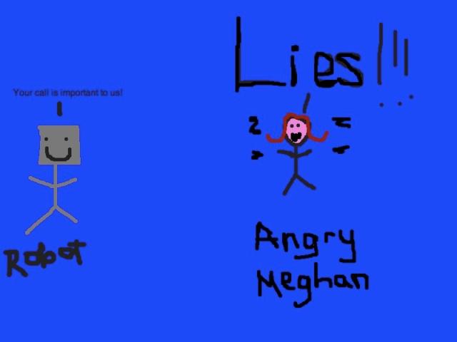 Angry Meghan