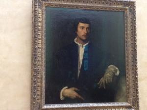 """Titien """"Portrait D'Homme"""""""